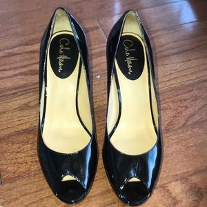 Shoes - Cole Haan NIKE AIR Peep Toe Pumps Size 10